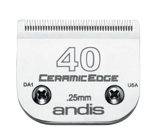 Andis Skär CeramicEdge nr 40 Metall Nr 40, 0,25mm