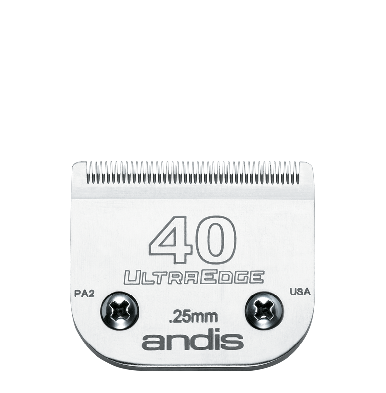 Andis Skär UltraEdge nr 40 Metall Nr 40, 0,25mm