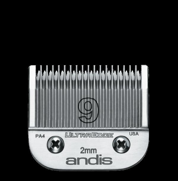 Andis Skär UltraEdge nr 9 Metall Nr 9, 2mm