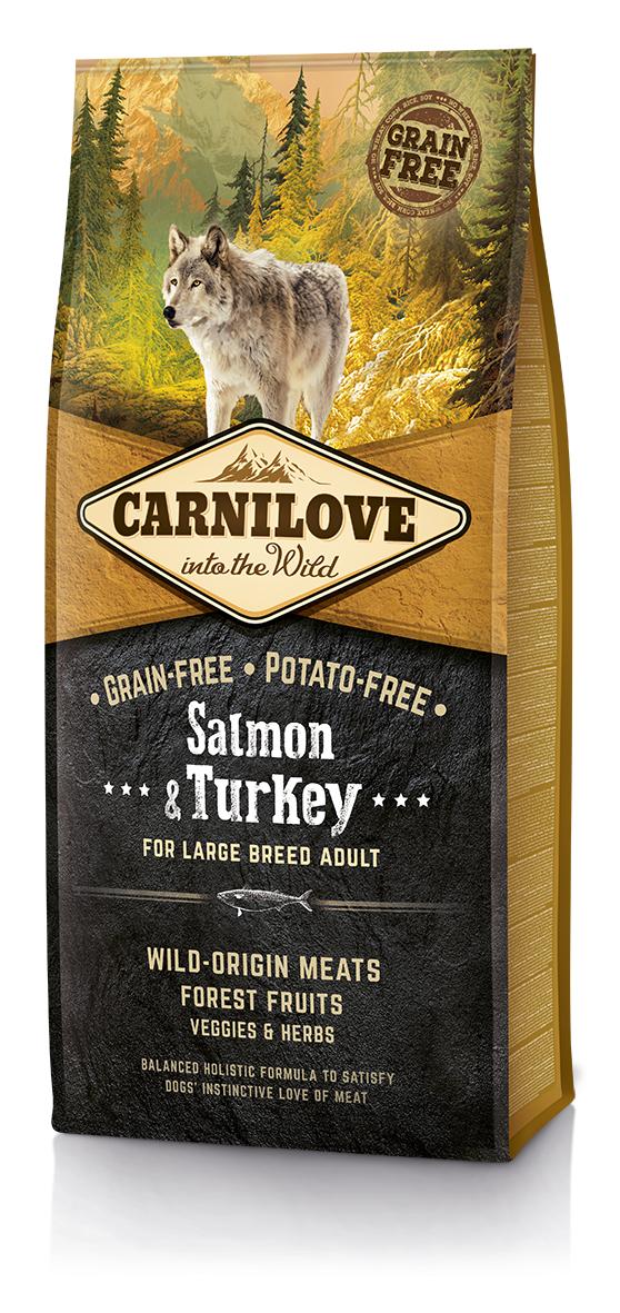 Carnilove Salmon o Turkey Adult Large 12Kg