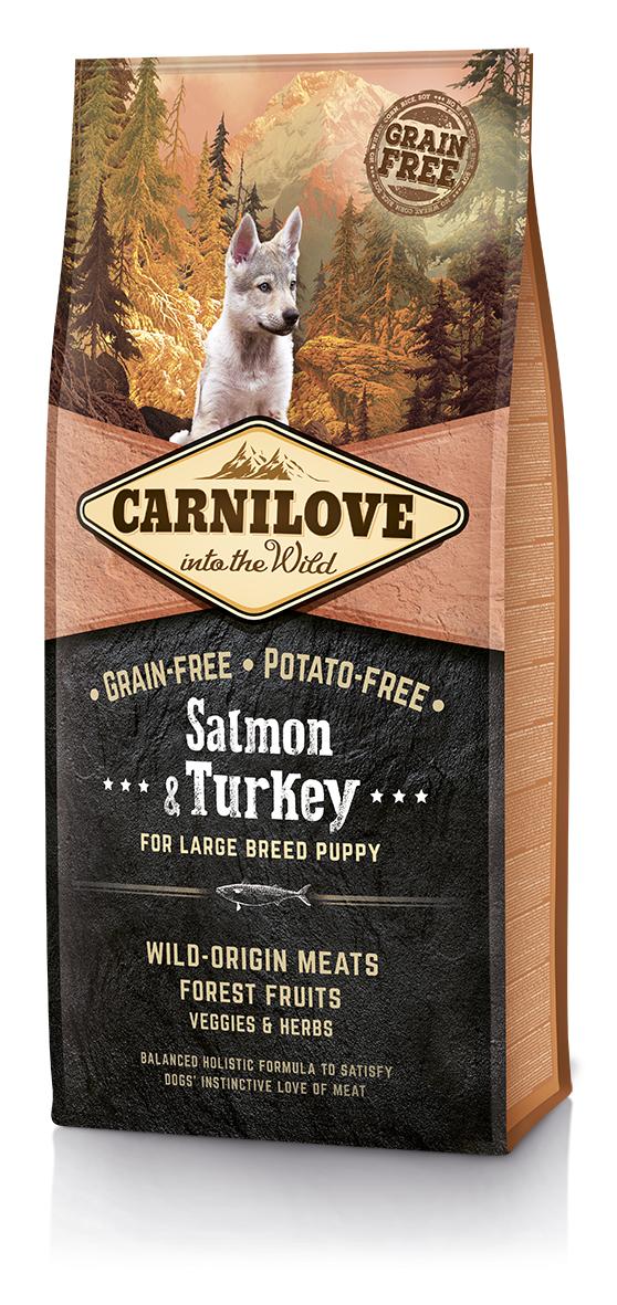 Carnilove Salmon o Turkey Puppy Large 12Kg