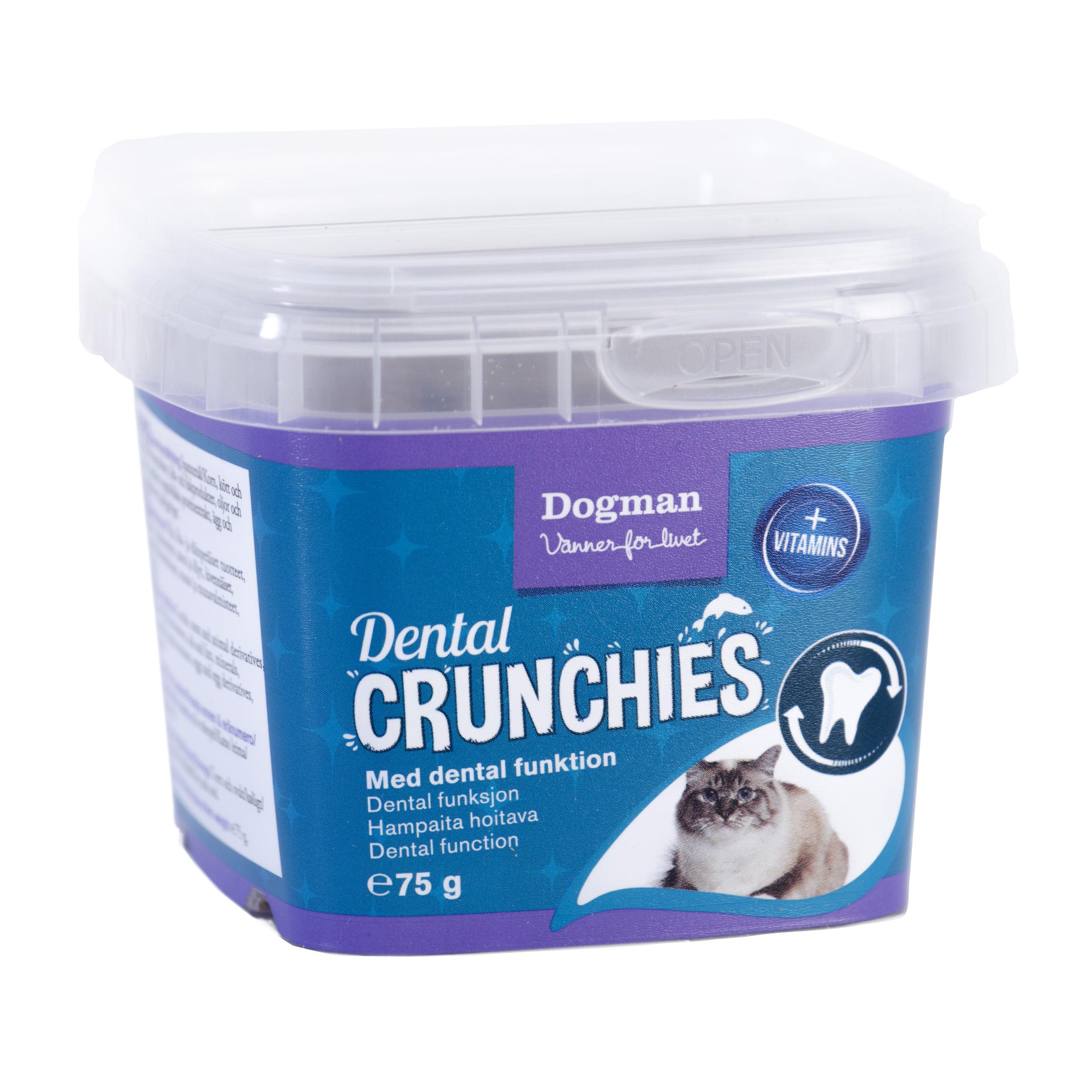 Dogman Crunchies dental 75g