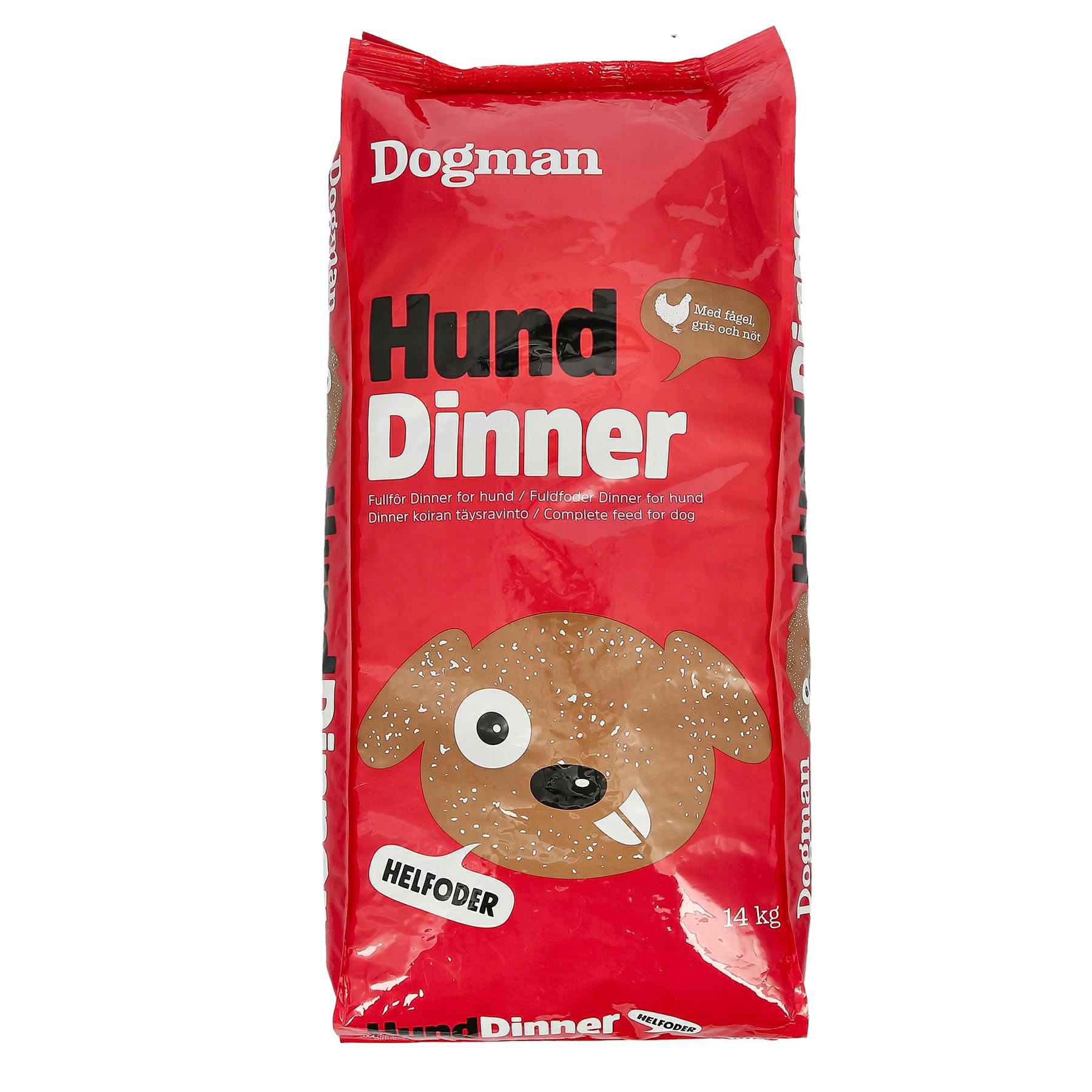 Dogman Dinner 14kg