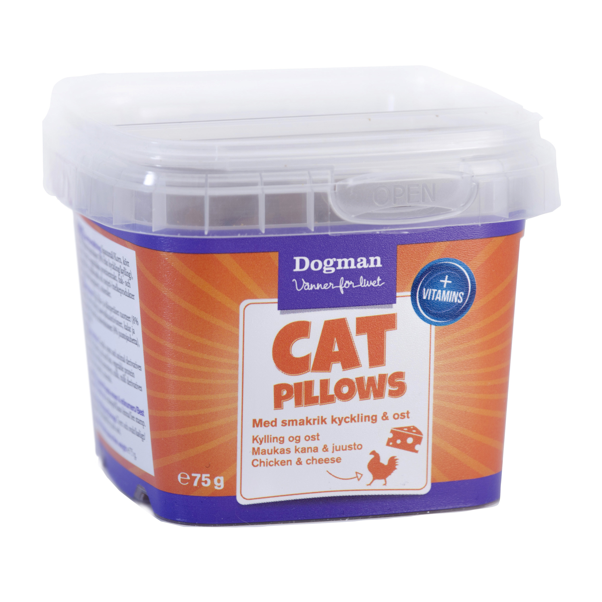 Dogman Pillows kyckling ost 75g