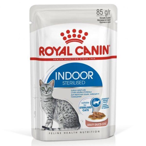 Royal Canin Indoor Gravy Wet 12x85g
