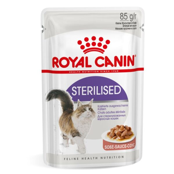 Royal Canin Sterilised Gravy Wet 12x85g